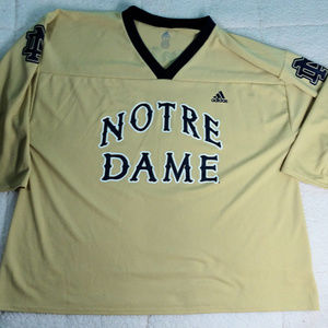 NCAA Notre Dame Coca-Cola Adidas Jersey X-Large